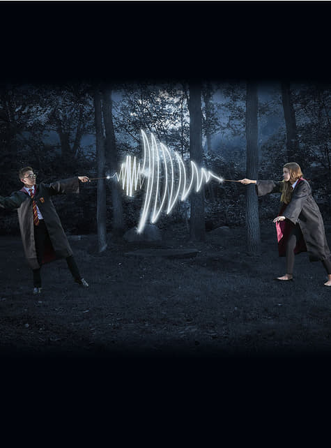 Bacchetta di Newt Scamandro digitale con luce - Animali Fastastici