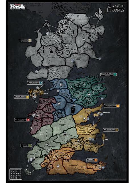 Risk de Game of Thrones em inglês