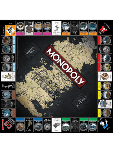 Monopoly de Juego de Tronos en inglés  - barato