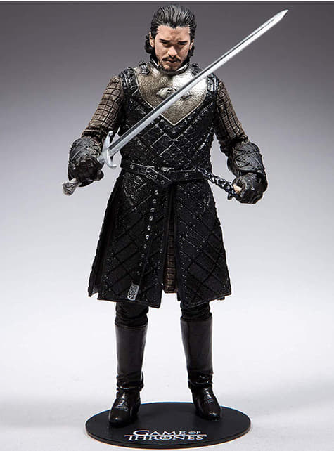 Figura de Jon Nieve 18 cm - Juego de Tronos - oficial