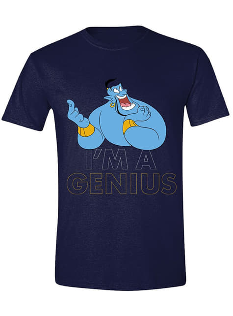 Camiseta Aladdín Soy un genio para hombre - Disney