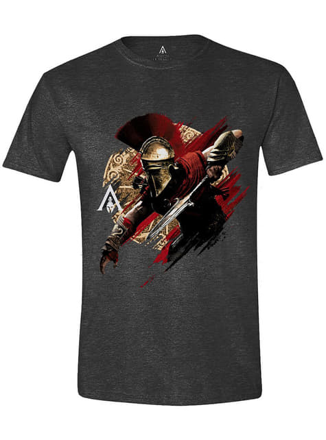 Tričko Assassin's Creed Odyssey pro muže, šedé