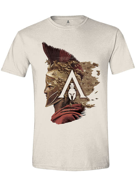 Tričko Assassin's Creed Alexios pro muže, bílé