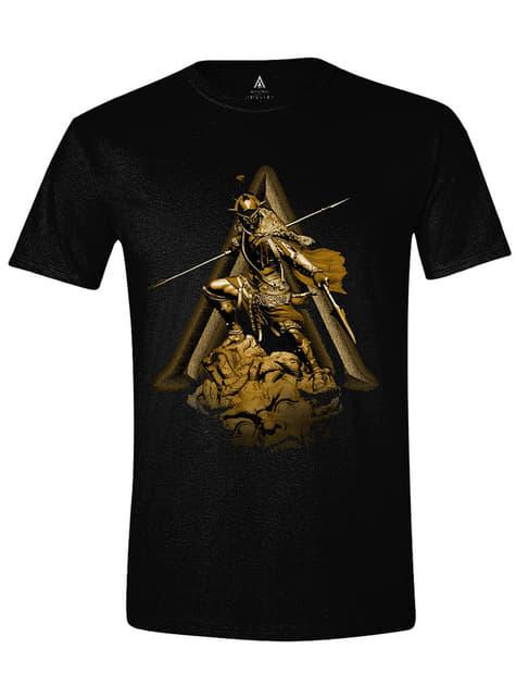 Camiseta Assassin's Creed negra para hombre