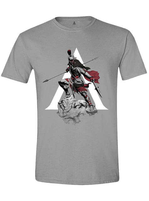 Camiseta Assassin's Creed gris para hombre