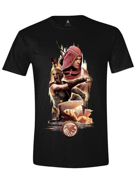 Camiseta Assassin's Creed personajes para hombre