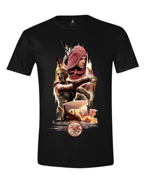 पुरुषों के लिए हत्यारे की पंथ वर्ण टी शर्ट