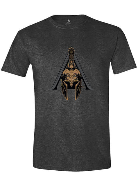 Assassin's Creed Helmet Logo T-Shirt for Men