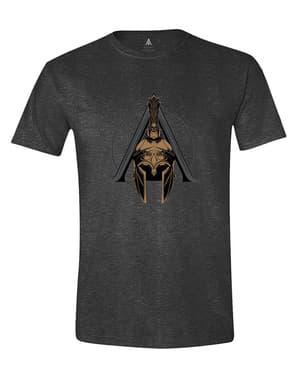 पुरुषों के लिए हत्यारा है पंथ हेलमेट लोगो टी शर्ट