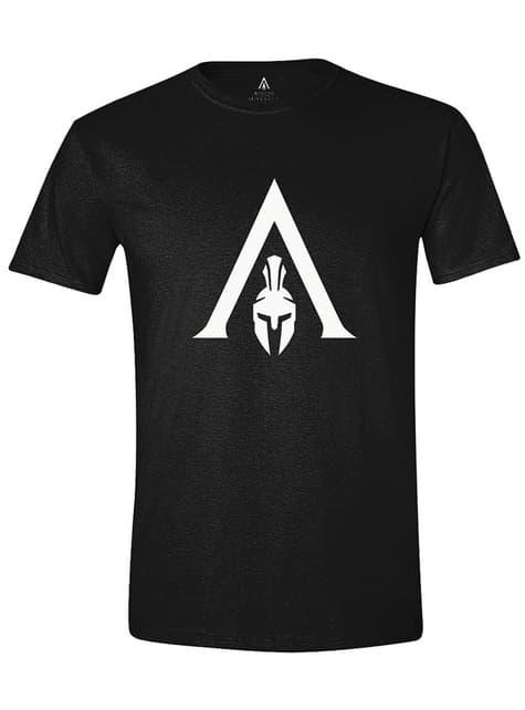 Camiseta Assassin's Creed logo blanco para hombre
