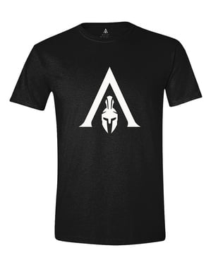 पुरुषों के लिए हत्यारे की पंथ सफेद लोगो टी-शर्ट