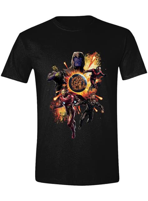 Avengers Endgame T-Shirt for Men, Black - Marvel