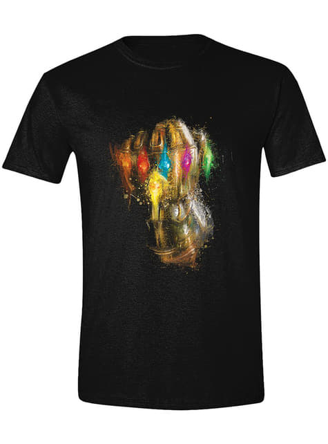 Camiseta Thanos guantelete para hombre - Los Vengadores Endgame