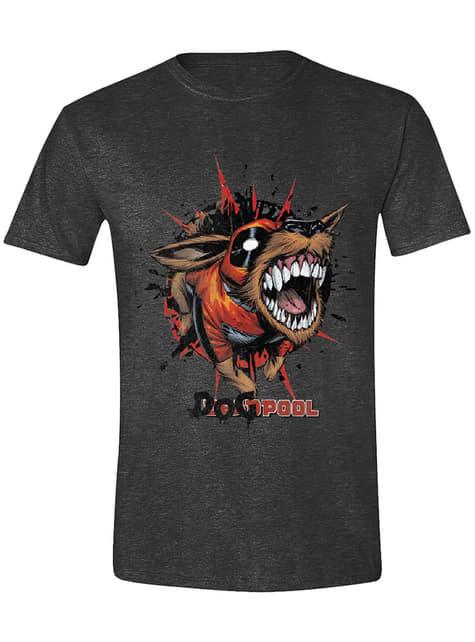 Camiseta Deadpool perro para hombre - Marvel