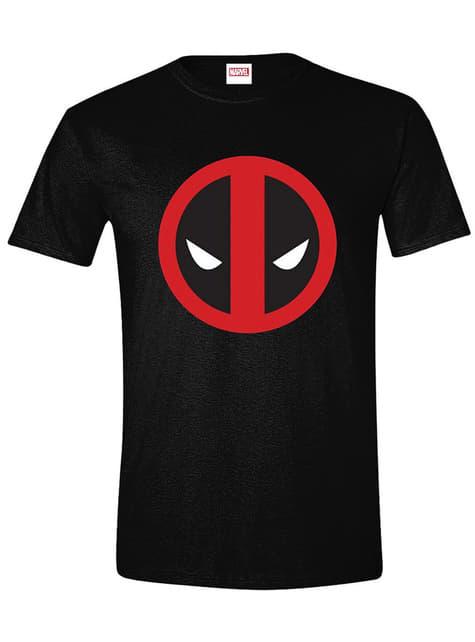T-shirt Logo Deadpool para homem - Marvel