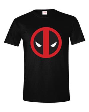 男性用デッドプールロゴTシャツ -  Marvel