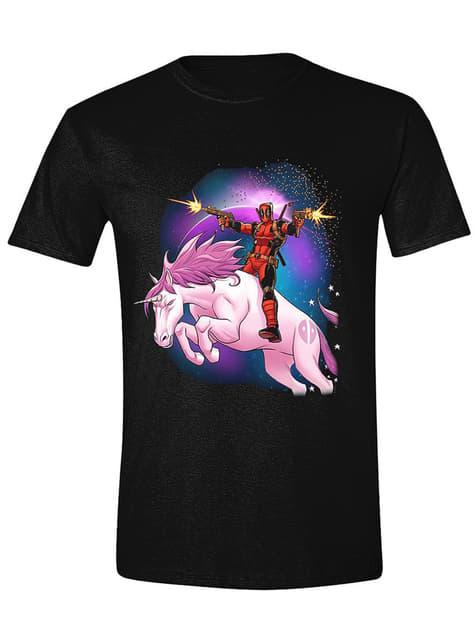 T-shirt Unicórnio Deadpool para homem - Marvel