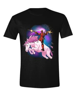 Kaos Deadpool Unicorn untuk Pria - Marvel