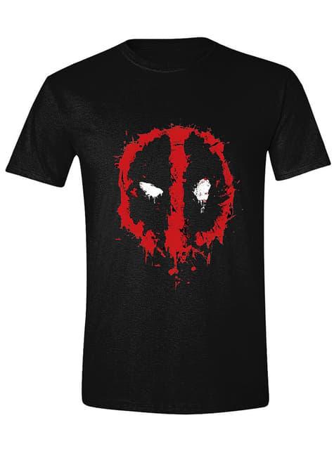 T-shirt Logo Deadpool vermelho para homem - Marvel