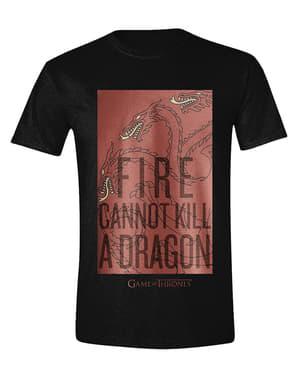 पुरुषों के लिए सिंहासन ड्रेगन टी शर्ट का खेल