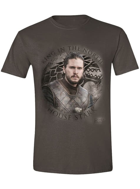 Jon Snow T-Shirt for Men - Game of Thrones