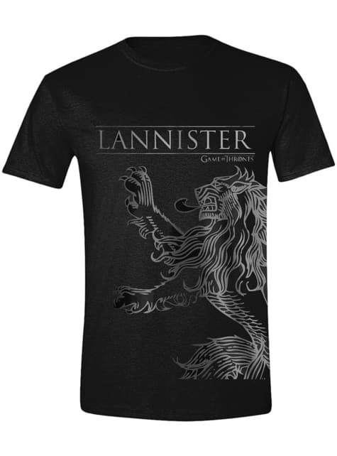 House Lannister T-Shirt for Men - Game of Thrones