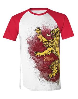 हाउस लैनिस्टर लोगो टी-शर्ट पुरुषों के लिए - गेम ऑफ थ्रोन्स