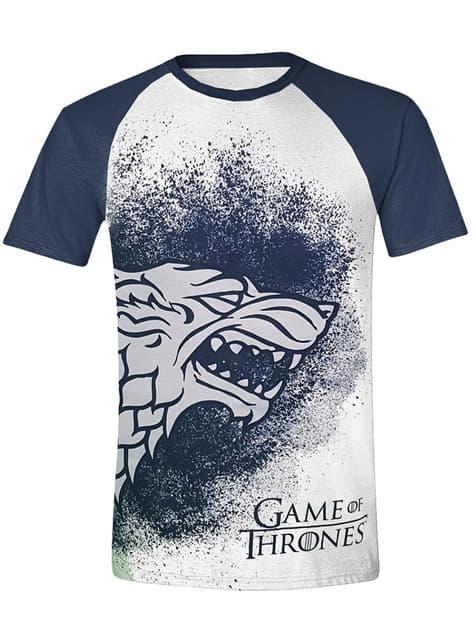 Camiseta Casa Stark logo para hombre - Juego de Tronos