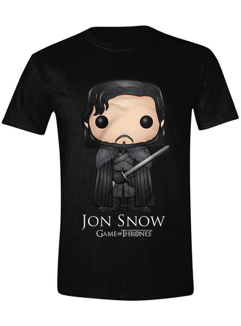 T-shirt Jon Snow dessin homme - Game of Thrones
