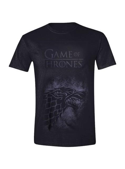 House Stark Blurred Logo T-Shirt for Men - Game of Thrones