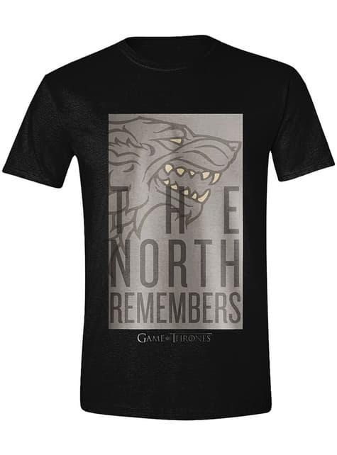 Camiseta Juego de Tronos The North Remembers para hombre
