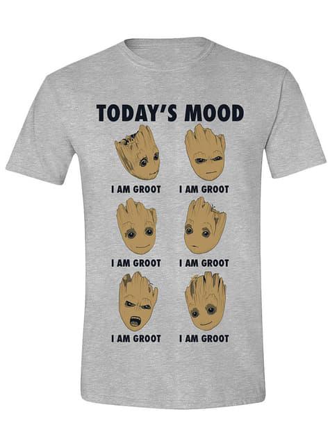 T-shirt Groot para homem - Guardiões da Galáxia