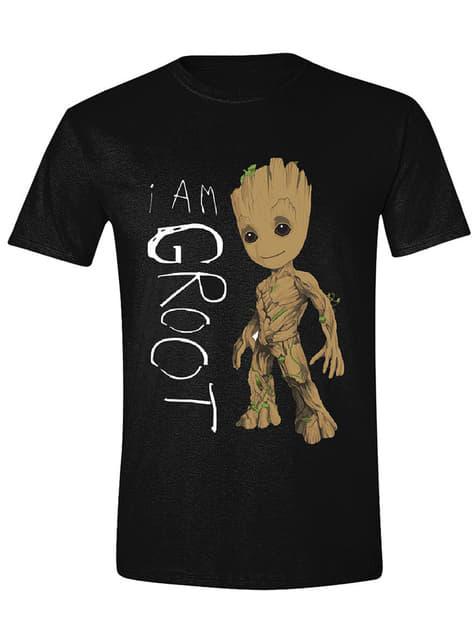 Camiseta de Guardianes de la Galaxia Vol 2 I Am Groot para hombre