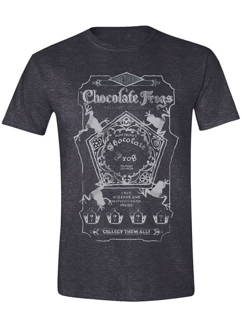 Camiseta Harry Potter ranas de chocolate para hombre