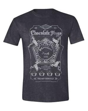 Kaos Harry Potter Cokelat untuk Pria