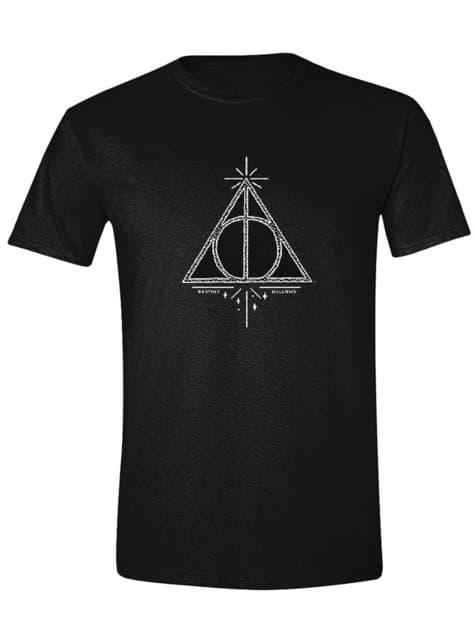 Camiseta Harry Potter y las Reliquias de la Muerte para hombre