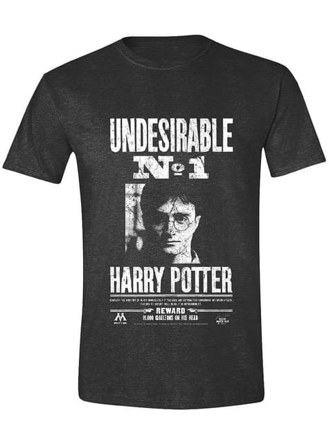 Harry Potter Undesirable No. 1 T-Shirt for Men