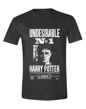 Kaos Harry Potter Nomor 1 yang Tidak Diinginkan untuk Pria