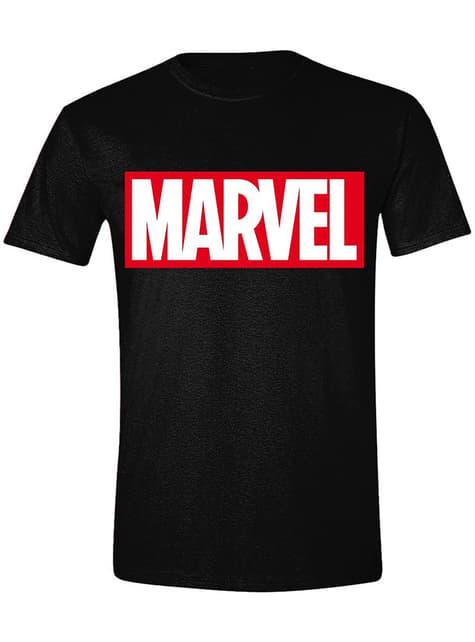Camiseta Marvel logo rojo para hombre