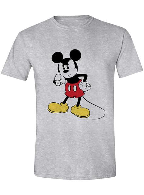 Camiseta Mickey Mouse enfadado para hombre - Disney
