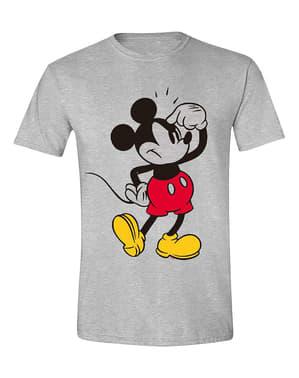 Mickey Mouse Erkekler İçin Tişört Düşünme - Disney