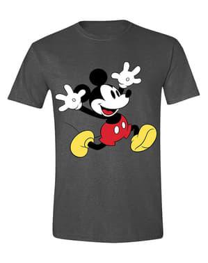 男性用ミッキーマウスハッピーTシャツ - ディズニー