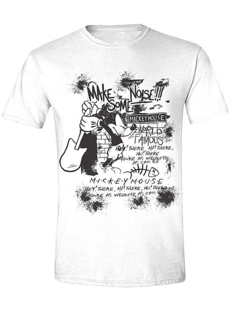 Camiseta Mickey Mouse guitarra para hombre - Disney