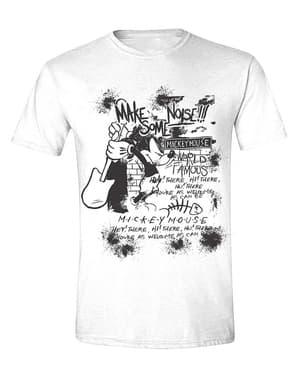 Мъжка тениска с Мики Маус с китара– Дисни
