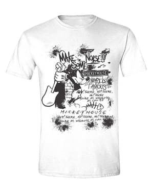 T-shirt Mickey Mouse guitarra para homem - Disney