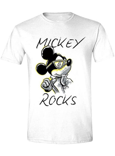 Mickey Mouse Rocks T-Shirt for Men - Disney