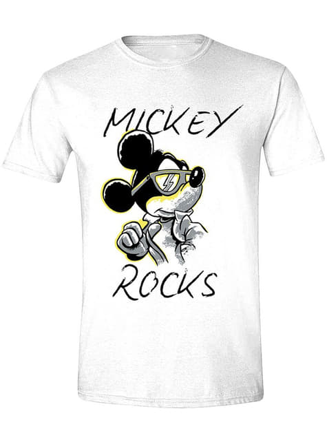 Micky Maus Rocks T-Shirt für Herren - Disney