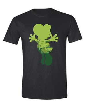 Erkekler için Yoshi Silhouette Tişört
