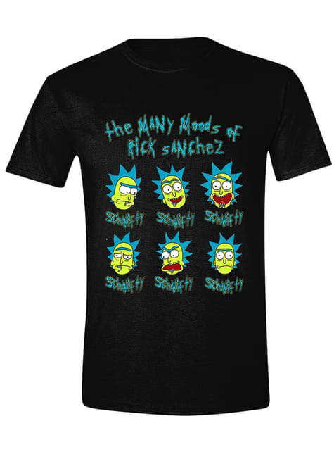T-shirt Rick faces homme - Rick et Morty