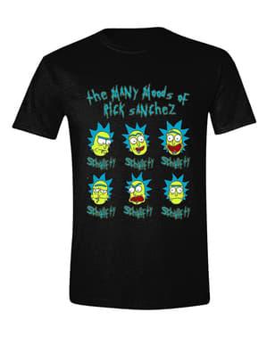 रिक चेहरे पुरुषों के लिए टी शर्ट - रिक और मोर्टी